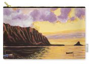 Glowing Kualoa Diptych 2 Of 2 Carry-all Pouch