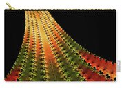Glowing Leaf Of Autumn Abstract Carry-all Pouch