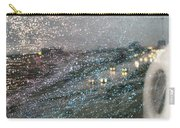 Glowing Raindrops In The City Carry-all Pouch