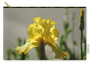 Glowing Yellow Iris Carry-all Pouch