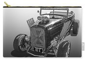 Go Hot Rod In Black And White Carry-all Pouch