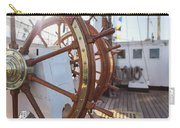 Steering Wheel Of Big Sailing Ship Carry-all Pouch