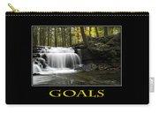 Goals Inspirational Motivational Poster Art Carry-all Pouch