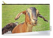 Goat Brown Nubian 2 6242018 Goat 2416.jpg Carry-all Pouch