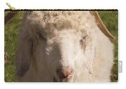 Goat Eating Carry-all Pouch