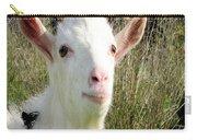 Goat Portrait Carry-all Pouch