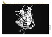 Goatlord And Baphomet Black Carry-all Pouch