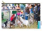 Goats At County Fair Carry-all Pouch