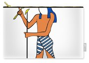 God Of Ancient Egypt - Horus Carry-all Pouch by Michal Boubin
