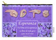 God Of Hope Spanish Carry-all Pouch