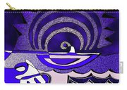 God Smiling On The Water Carry-all Pouch