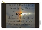 God So Loved Carry-all Pouch