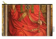 God The Father Carry-all Pouch by Hubert and Jan Van Eyck