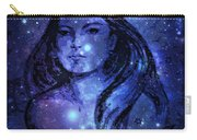 Goddess In Blue Carry-all Pouch