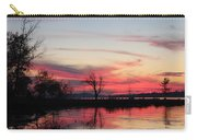 God's Hand On The Lake Carry-all Pouch