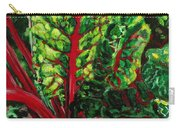 God's Kitchen Series No 7 Swiss Chard Carry-all Pouch
