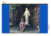 Going Before The Sacred Heart Of Jesus Carry-all Pouch