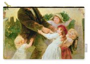 Going To The Fair Carry-all Pouch by Frederick Morgan