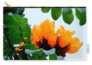 Gold African Tulips Carry-all Pouch