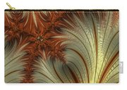 Gold And Burnt Orange Fractal Carry-all Pouch