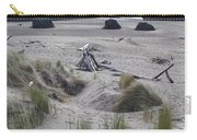 Gold Beach Oregon Beach Grass 18 Carry-all Pouch