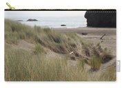 Gold Beach Oregon Beach Grass 24 Carry-all Pouch