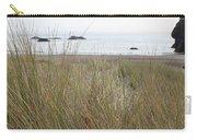 Gold Beach Oregon Beach Grass 7 Carry-all Pouch