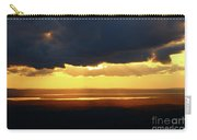 Gold Behind The Clouds Carry-all Pouch