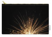Gold Bloom Carry-all Pouch