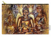 Gold Buddha - Peace  Carry-all Pouch