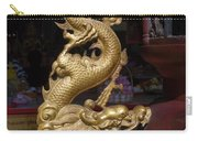 Gold Dragon Statue Carry-all Pouch