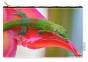 Gold Dust Day Gecko 3 Carry-all Pouch