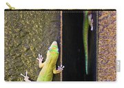 Gold Dusted Day Gecko Carry-all Pouch