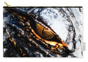 Gold Gator Eye Carry-all Pouch