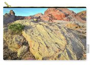 Gold Lava Flow In Valley Of Fire Carry-all Pouch