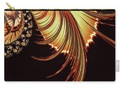 Gold Leaf Abstract Carry-all Pouch