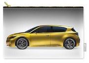 Gold Lexus Lf-ch Hybrid Car Carry-all Pouch