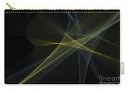 Gold Mine Computer Graphic Line Pattern Carry-all Pouch