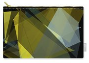 Gold Mine Polygon Pattern Carry-all Pouch