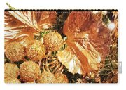 Gold Ornaments Holiday Card Carry-all Pouch