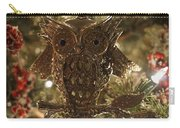 Gold Owl Carry-all Pouch