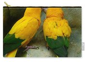 Gold Parakeets Carry-all Pouch
