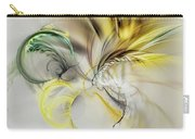 Gold Plumage Carry-all Pouch