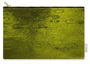 Gold Rain Droplets Carry-all Pouch