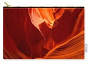 Gold Red And Orange Abstract Carry-all Pouch