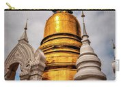 Gold Stupa Carry-all Pouch