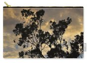 Gold Sunset Tree Silhouette I Carry-all Pouch