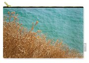 Gold Thistles And The Aegean Sea Carry-all Pouch
