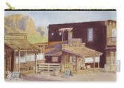 Gold Town By Superstition Mountains Carry-all Pouch
