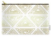 Gold Tribal Carry-all Pouch